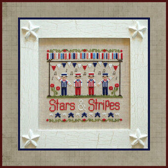 Stars & Stripes - Cross Stitch Pattern