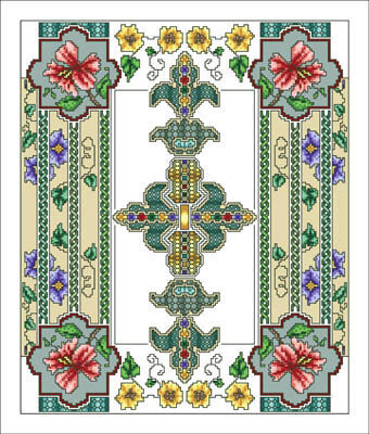 Celtic July - Cross Stitch Pattern