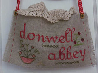 Strawberries at Donwell Abbey - Cross Stitch Pattern
