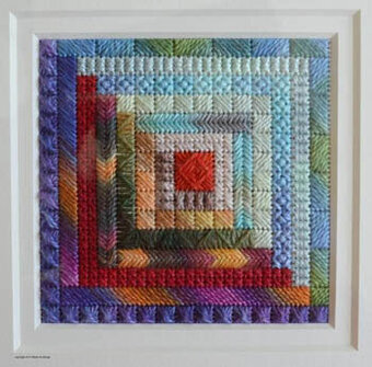 Quilt Squared II - Needlepoint Pattern