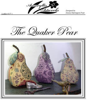 Quaker Pear, The - Cross Stitch Pattern