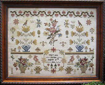 Mary Ann Farmer - Cross Stitch Pattern