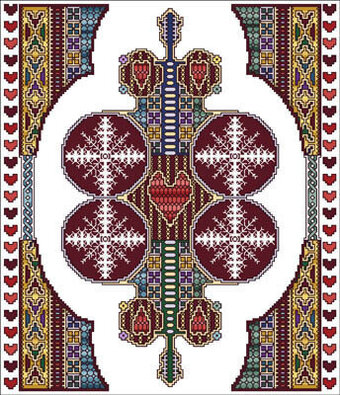 Celtic February - Cross Stitch Pattern