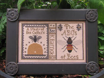 Bee Study - Cross Stitch Pattern