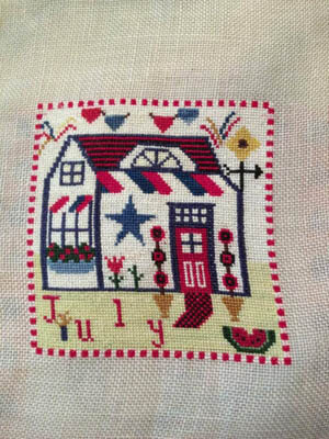 Sugar Shack July Licorice - Cross Stitch Pattern