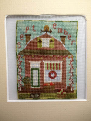 Sugar Shack September Honeycrisp - Cross Stitch Pattern