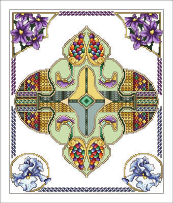 Celtic May - Cross Stitch Pattern