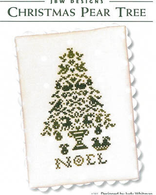Christmas Pear Tree - Cross Stitch Pattern