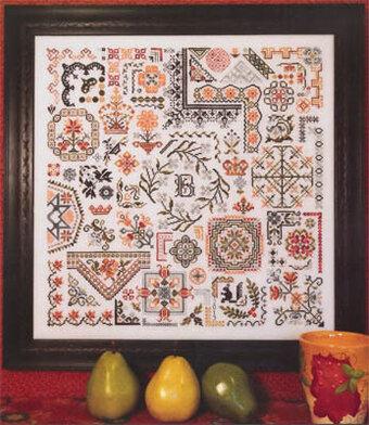 Corners & Curves - Cross Stitch Pattern