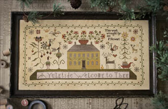 Yuletide Welcome, A - Cross Stitch Pattern