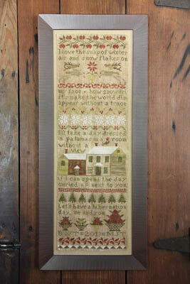Hibernation Day - Cross Stitch Pattern