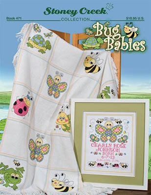 Bug Babies - Cross Stitch Pattern