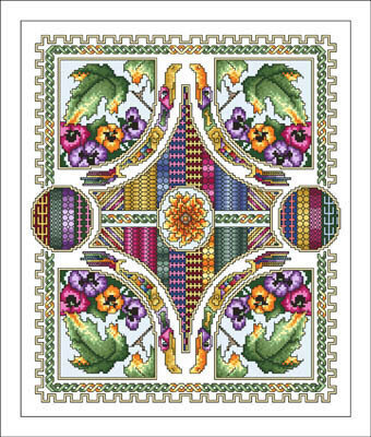 Celtic September - Cross Stitch Pattern