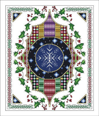 Celtic December - Cross Stitch Pattern