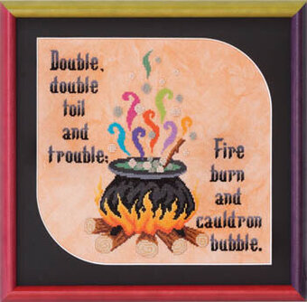 Toil and Trouble - Cross Stitch Pattern