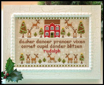 Reindeer Games - Cross Stitch Pattern