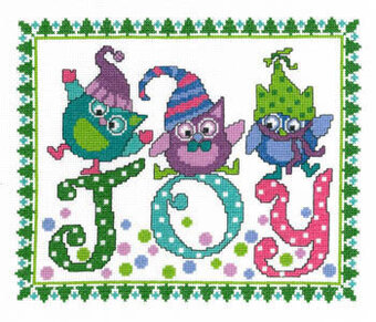 Holiday Blues - Cross Stitch Pattern