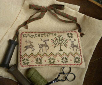 Wintertime - Cross Stitch Pattern