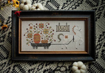 Harvest Delivery - Cross Stitch Pattern