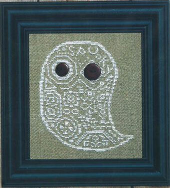 Quaker Ghost - Cross Stitch Pattern