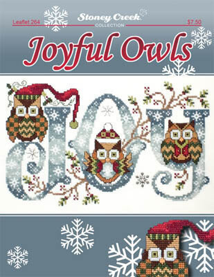 Joyful Owls - Cross Stitch Pattern