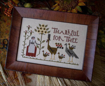 Thankful for Thee - Cross Stitch Pattern