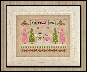 It's Snow Cold - Cross Stitch Pattern