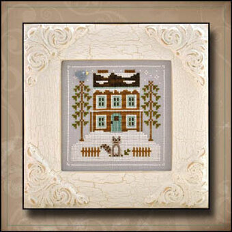 Raccoon Cabin - Cross Stitch Pattern
