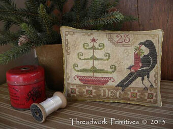 Beggar's Christmas - Cross Stitch Pattern