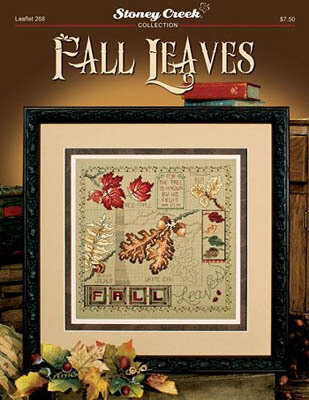 Fall Leaves - Cross Stitch Pattern