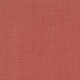 French General Favorites Faded Red Fabric - Fat Quarter