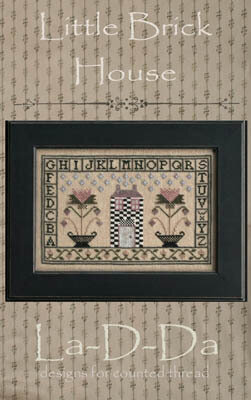 Little Brick House - Cross Stitch Pattern
