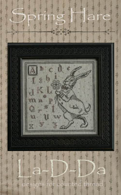 Spring Hare - Cross Stitch Pattern