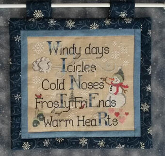 Winter Things - Cross Stitch Pattern