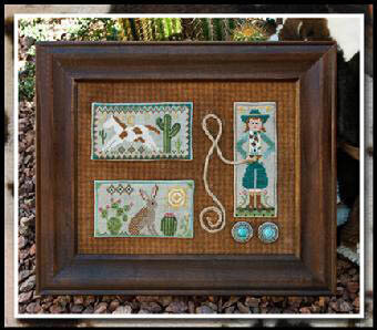 Tumbleweeds 2 - Cowgirl Country - Cross Stitch Pattern