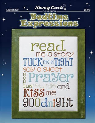 Bedtime Expressions - Cross Stitch Pattern
