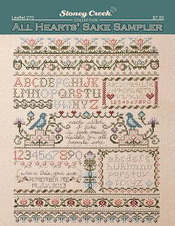 All Heart's Sake Sampler - Cross Stitch Pattern
