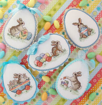 Easter Parade - Cross Stitch Pattern