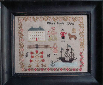 Eliza Poole Sampler - Cross Stitch Pattern