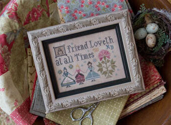 Friend Loveth, A - Cross Stitch Pattern