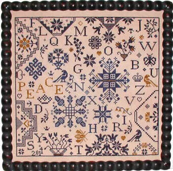 Simple Gifts Peace - Cross Stitch Pattern
