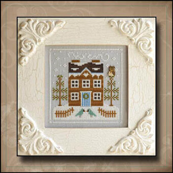 Bluebird Cabin - Cross Stitch Pattern