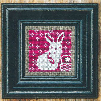 Pink + White - Cross Stitch Pattern