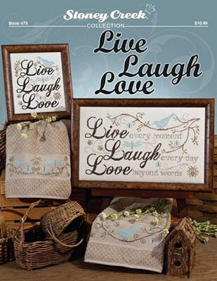 Live Laugh Love - Cross Stitch Pattern