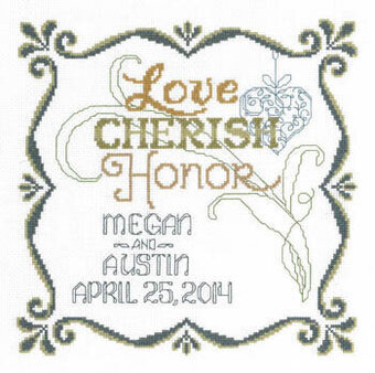 Honoring Marriage - Cross Stitch Pattern