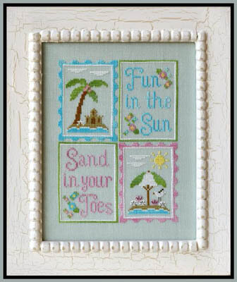 Fun in the Sun - Cross Stitch Pattern