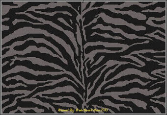 Markings of the Zebra - Cross Stitch Pattern