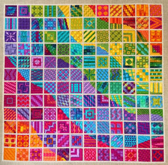 Colorwaves - Needlepoint Pattern