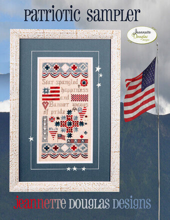 Patriotic Sampler - Cross Stitch Pattern