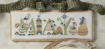 May - Cross Stitch Pattern